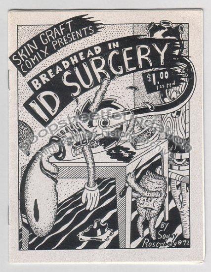 ID SURGERY art brut underground mini comix SKIN GRAFT Sonny Rosenberg 1992