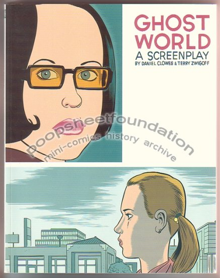 GHOST WORLD movie screenplay book DAN CLOWES alternative comics 2001