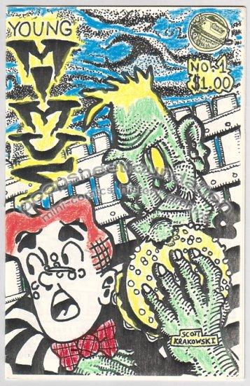 YOUNG MIMUS art brut mini-comix ARCHIE Jughead SCOTT KRAKOWSKI 1988