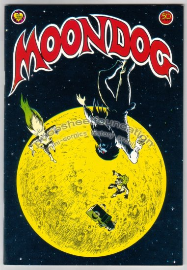 MOONDOG #2 underground comix GEORGE METZGER 1971