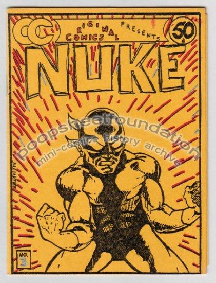 ORIGINAL COMICS #3 small press comic ED ZALESKI Mark Shedlock 1985 signed numbered