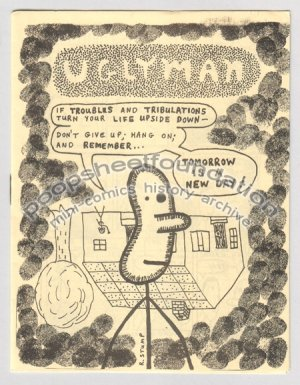 UGLYMAN #2 mini newave comix ROBERT STUMP 1983