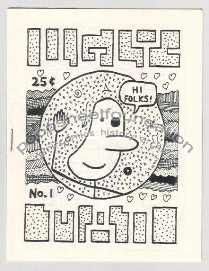 UGLYMAN #1 mini newave comix ROBERT STUMP 1983