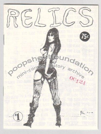 RELICS #1 mini comix BOB LEWIS Scratchez 1983