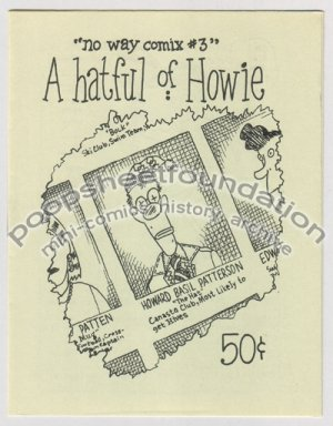 A HATFUL OF HOWIE mini comix WAYNO Howie the Hat 1986
