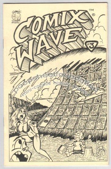 COMIX WAVE #3 underground comix MICHAEL RODEN Brad Foster DAVID MILLER 1981