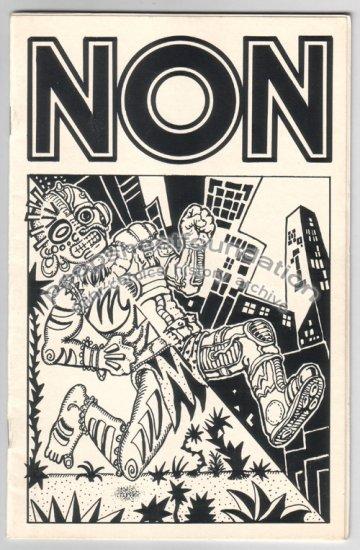 NON #1 art brut mini comix XNO Bob X SIGNED 1984