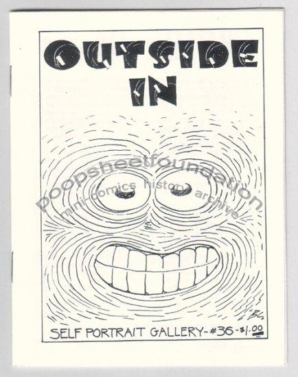 OUTSIDE IN #36 mini-comix DANIEL CLOWES Carol Tyler JOHN PORCELLINO 1990
