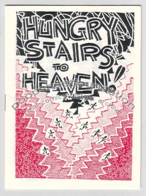 HUNGRY STAIRS TO HEAVEN mini comix comic STEVE WILLIS dada 1992