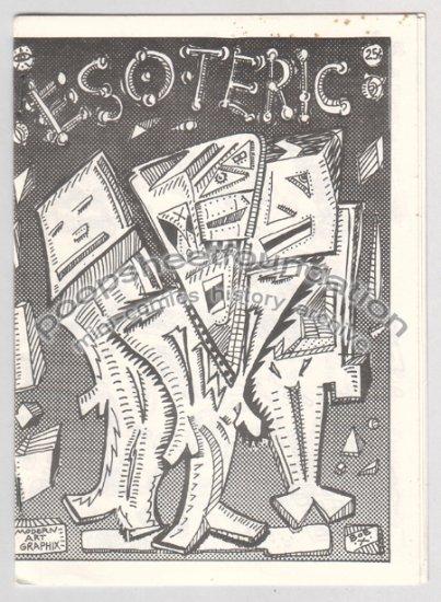 ESOTERIC mini comix BOB X art brut signed numbered 1980s