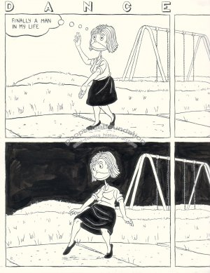 John Hankiewicz ORIGINAL ART comic ASTHMA 2005