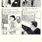 John Hankiewicz ORIGINAL ART comic MOME Those Eyes page 3 2007