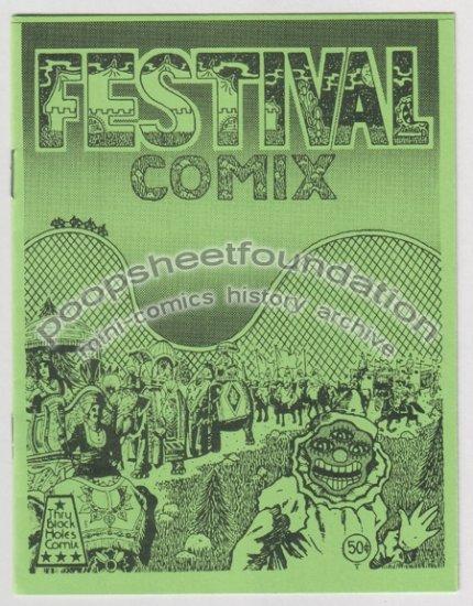 FESTIVAL COMIX mini comic MICHAEL RODEN Robert Armstrong XNO underground art brut 1984