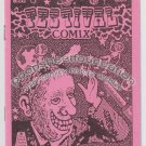 FESTIVAL COMIX #2 mini comic MICHAEL RODEN Brad Foster underground art brut 1985