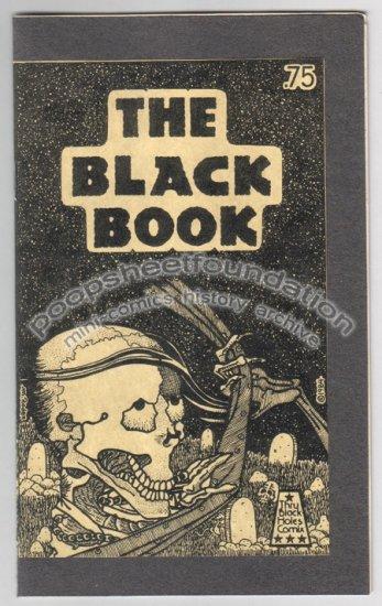 THE BLACK BOOK mini comix MICHAEL RODEN Roman Scott 1984