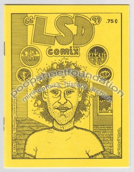 LSD COMIX mini comic MICHAEL RODEN Dennis Worden J.R. WILLIAMS 1985