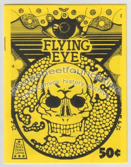 FLYING EYE art brut psychedelic MICHAEL RODEN mini comix 1983
