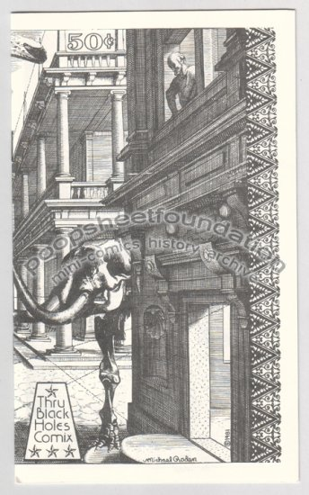 CITY OF BONE COMIX art brut gothic underground comix MICHAEL RODEN Bill Shut 1981