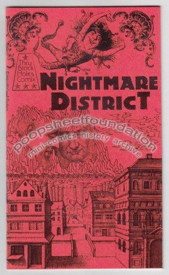 NIGHTMARE DISTRICT art brut gothic horror comics MICHAEL RODEN Tom Brinkmann 1981
