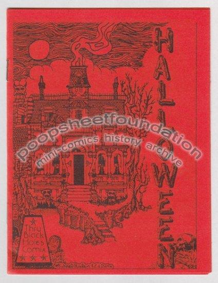 HALLOWEEN #1 art brut gothic comix MICHAEL RODEN E.H. Dorn 1981