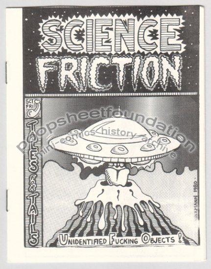 SCIENCE FRICTION #1 underground comix TOM BRINKMANN Charles Schneider 2nd variant