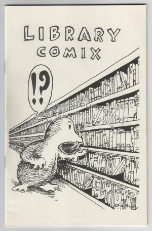 LIBRARY COMIX obscure mini-comic STEVE WILLIS 1987