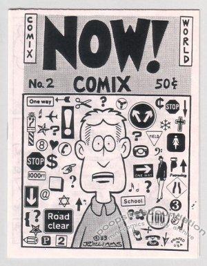 NOW COMIX #2 underground mini-comic J.R. WILLIAMS 1983