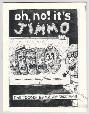 OH NO IT'S JIMMO mini-comic J.R. WILLIAMS 1990