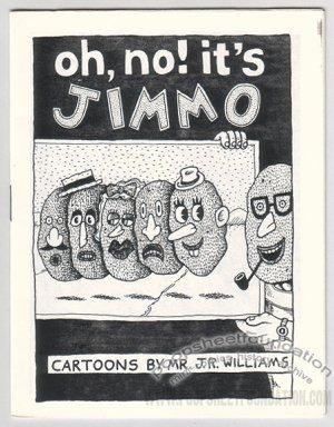 OH NO IT'S JIMMO mini-comic J.R. WILLIAMS 1990