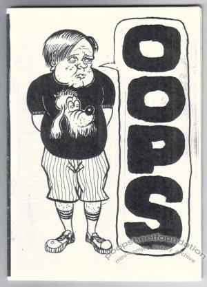 OOPS Australian mini-comix AARON O'DONNELL Claudio Parentela SCOTT CLEMENT 1990s