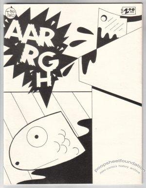 AARRGH #2 underground comix KEN STRUCK 1986