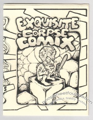 EXQUISITE CORPSE COMIX #14 underground comix art brut JEFF GAITHER Bill Shut 1990