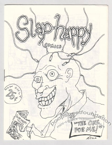 SLAP-HAPPY COMICS mini-comic early CHRIS CILLA 1987