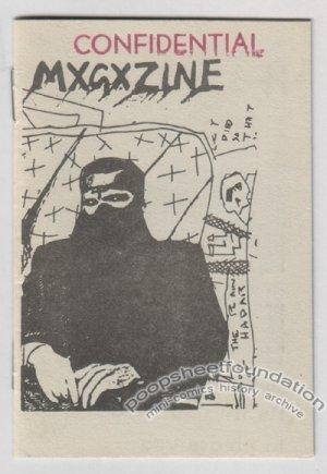 MXGXZINE underground comix mini TUCKER PETERTIL Lucio Gratis 1982