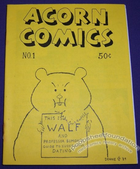 ACORN COMICS #1 mini-comic 1989