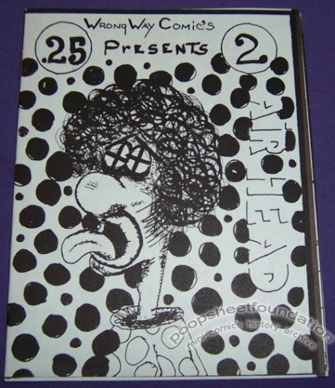 AIR HEAD #2 mini-comic ED CRAWFORD 1986