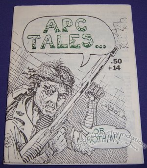 APC TALES #14 mini-comic EDWARD BOLMAN Bob Vojtko BRAD FOSTER 1986