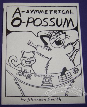 A-SYMMETRICAL O-POSSUM mini-comic SHANNON SMITH