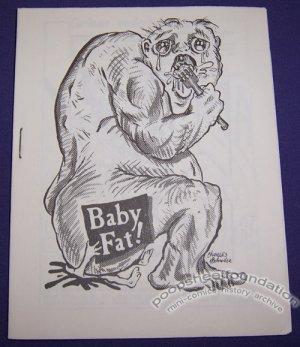 BABYFAT #15 underground comix CHARLES SCHNEIDER Dan W. Taylor DON CHIN 1980