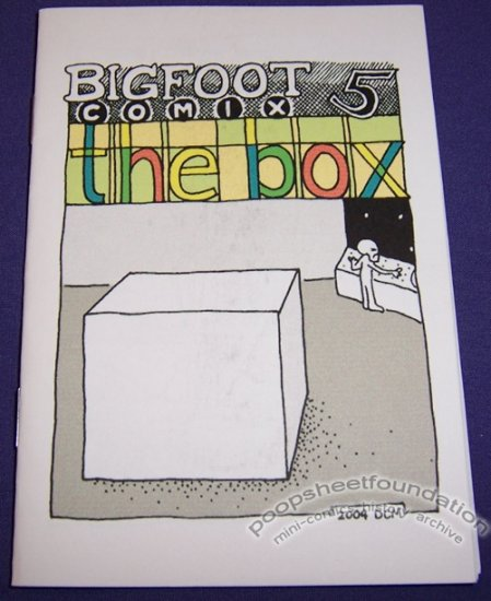 BIGFOOT COMIX #5 mini-comic D.C. MCNAMARA 2004