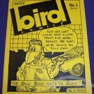 BIRD COMICS #1 mini-comix BRAD FOSTER David Tosh MATT LEVIN signed handcolored 1986