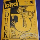 BIRD COMICS #4 mini-comix DENIS KITCHEN Wayno JEFF GAITHER Lee Burks SIGNED 1986
