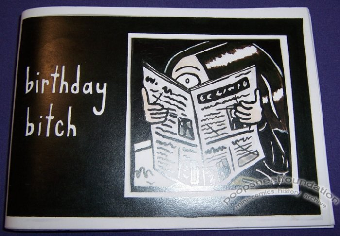 BIRTHDAY BITCH Australian mini-comic MANDY ORD