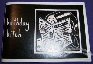 BIRTHDAY BITCH Australian mini-comic MANDY ORD