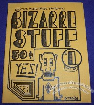BIZARRE STUFF #1 mini-comix STEVE OGDEN Bobb Waller EDD VICK 1986
