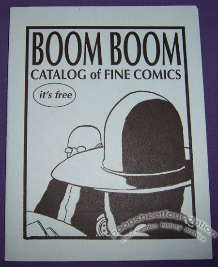BOOM BOOM CATALOG mini-comic DAVID LASKY 1990s