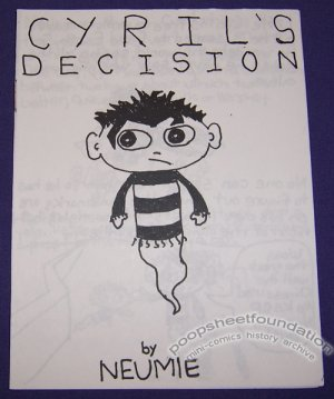 CYRIL'S DECISION mini-comic JASON NEUMAN Neumie 2000
