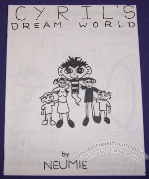 CYRIL&#039;S DREAM WORLD mini-comic JASON NEUMAN Neumie 2000