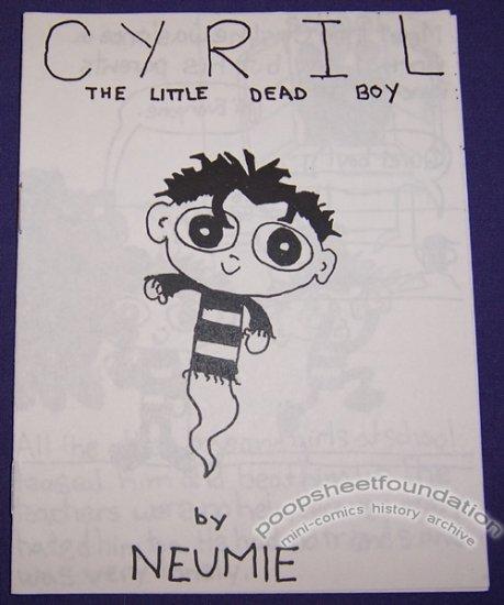 CYRIL THE LITTLE DEAD BOY mini-comic JASON NEUMAN Neumie 2000