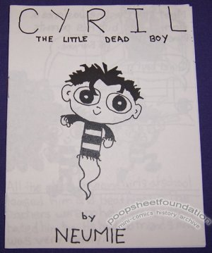 CYRIL THE LITTLE DEAD BOY mini-comic JASON NEUMAN Neumie 2000